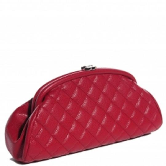 Chanel red Clutch Image 1