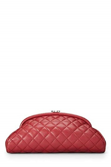 Chanel red Clutch Image 2