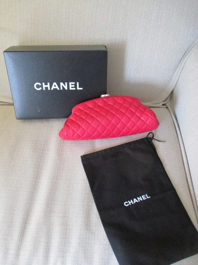 Chanel red Clutch Image 3