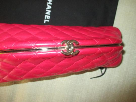 Chanel red Clutch Image 5