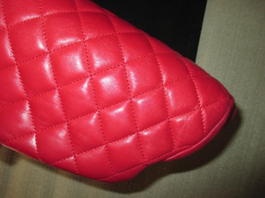Chanel red Clutch Image 6