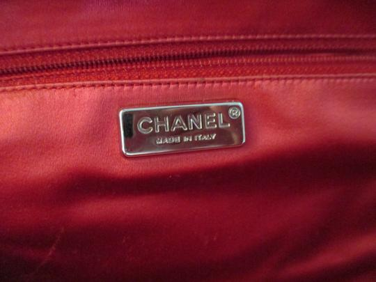 Chanel red Clutch Image 8