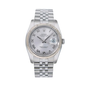 Rolex Rolex Datejust 116234 36MM Silver Dial With Stainless Steel Bracelet