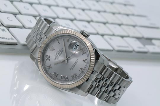 Rolex Rolex Datejust 116234 36MM Silver Dial With Stainless Steel Bracelet Image 1