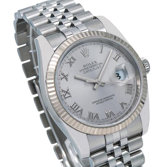 Rolex Rolex Datejust 116234 36MM Silver Dial With Stainless Steel Bracelet Image 2