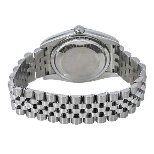 Rolex Rolex Datejust 116234 36MM Silver Dial With Stainless Steel Bracelet Image 4