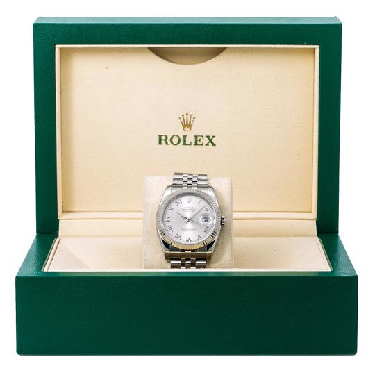 Rolex Rolex Datejust 116234 36MM Silver Dial With Stainless Steel Bracelet Image 5
