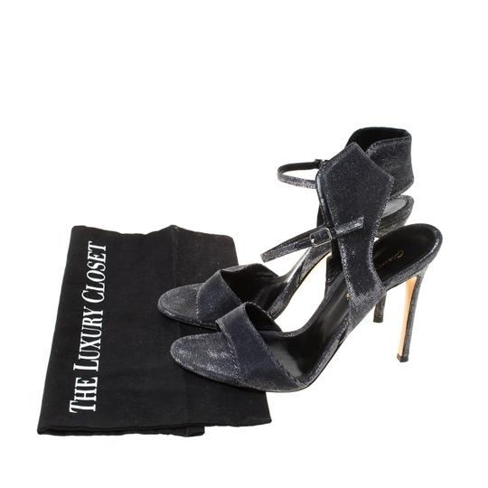 Gianvito Rossi Open Toe Ankle Strap Grey Sandals Image 7