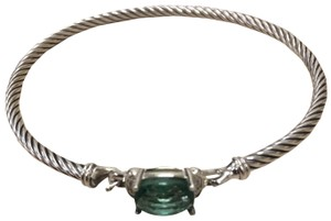 David Yurman david yurman 3mm bracelet with prasiolite and diamond