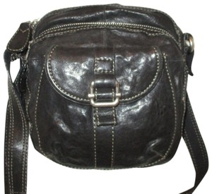 Fossil Leather Shoulderbag Onm004 Cross Body Bag