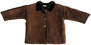 Burberry Geniune Sheepskin Kids Baby Fur Coat