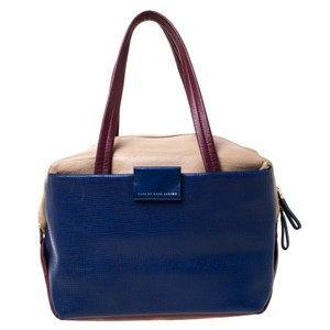 Marc by Marc Jacobs Leather Satchel in Multicolor