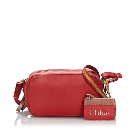 Chloé 9hclcx006 Vintage Leather Cross Body Bag Image 10