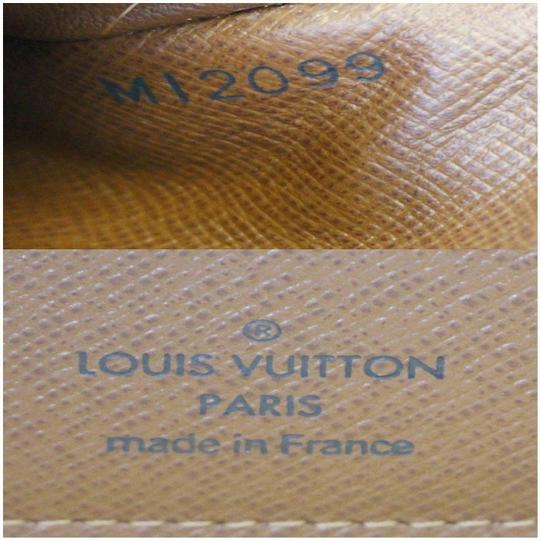 Louis Vuitton LOUIS VUITTON Eugenie Monogram Canvas Wallet Brown Image 10