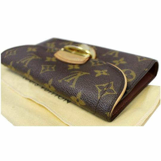 Louis Vuitton LOUIS VUITTON Eugenie Monogram Canvas Wallet Brown Image 3