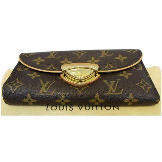 Louis Vuitton LOUIS VUITTON Eugenie Monogram Canvas Wallet Brown Image 6