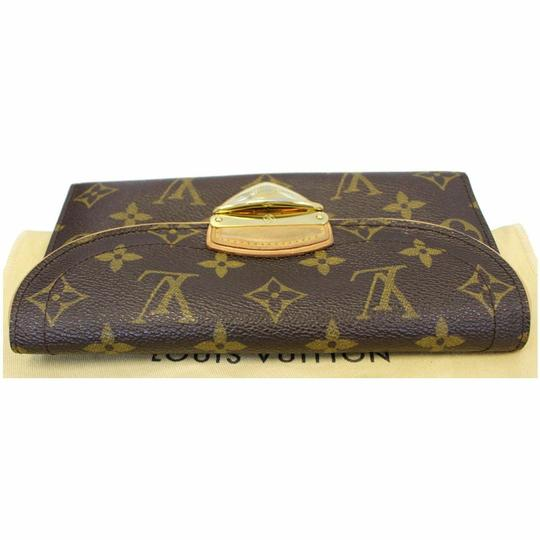 Louis Vuitton LOUIS VUITTON Eugenie Monogram Canvas Wallet Brown Image 7