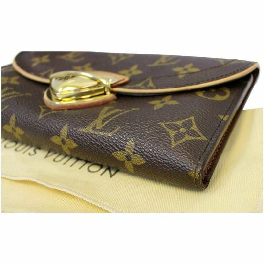 Louis Vuitton LOUIS VUITTON Eugenie Monogram Canvas Wallet Brown Image 8