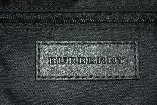 Burberry Check Overnight Packable Tote in Bright Burgundy Image 8