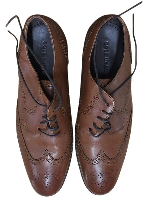 Item - Beige Benton Wingtip Derby Ii Men's Pumps Size US 11.5 Regular (M, B)