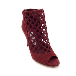 Jimmy Choo Burgundy Boots