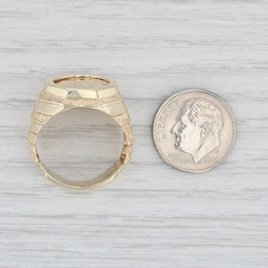Other 1850 Golden Dollar Coin Ring - 10k 900 Size 8.25 Type 1 Civil War $1 Image 6