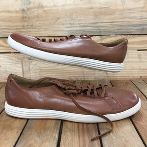 Cole Haan Tan Grand Leather Oxford Men's Shoes