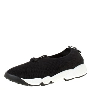Dior Mesh Leather Rubber Black Athletic