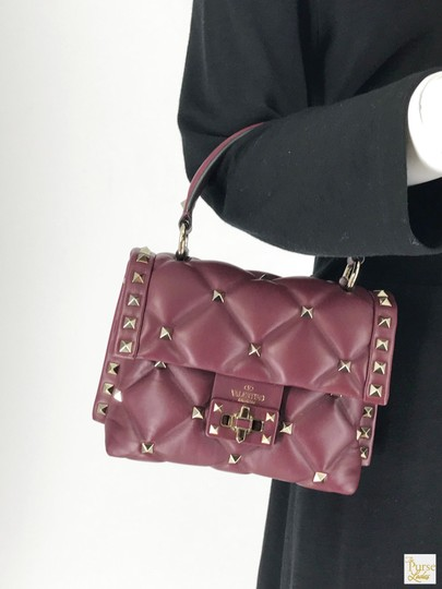 Valentino Leather Candystud Cross Body Bag Image 10