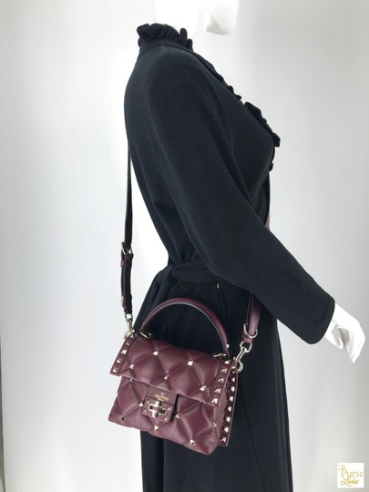 Valentino Leather Candystud Cross Body Bag Image 11