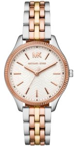 Michael Kors Michael Kors MK6642 Lexington Three-Hand Tri-Tone Watch