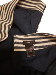 Ann Taylor Skirt Blue and cream stripes