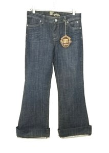 KUT from the Kloth Trouser/Wide Leg Jeans-Medium Wash