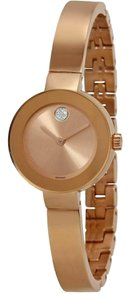 Movado Bold Stainless Steel Bracelet Sunray Dial 3600286 Watch