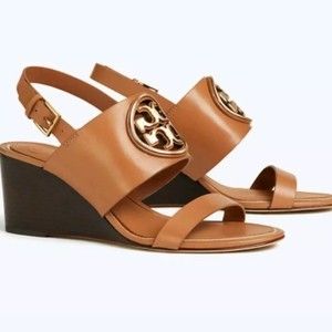 Tory Burch Tan/ rose gold Sandals