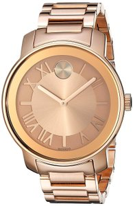 Movado Bold Stainless Steel Roman Numeral 3600199