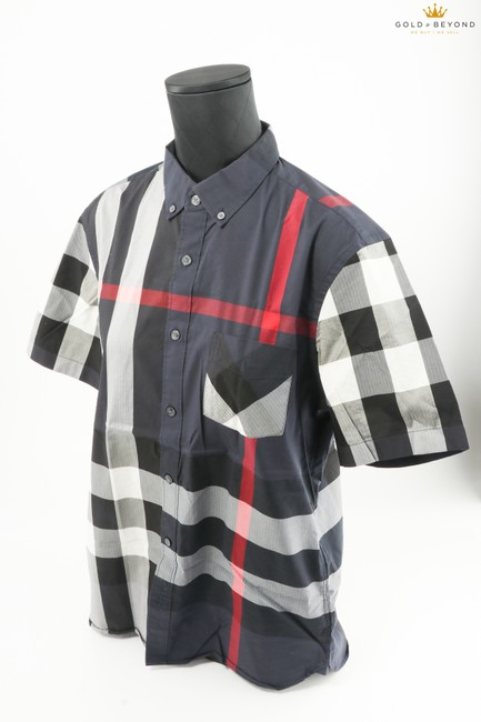 Item - Multi-color Thornaby Short-sleeve Check Sport Shirt