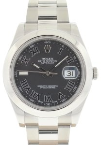 rolex Rolex 116300 Datejust II Grey Dial Stainless Steel Automatic Watch