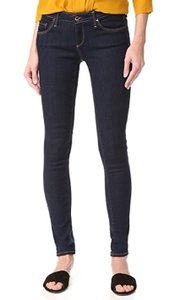 AG Stretchy The Legging Low Rise Skinny Jeans-Dark Rinse