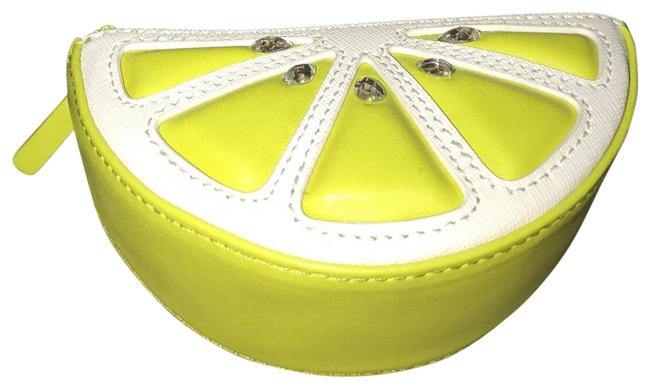 Item - Lime Leather Coin Purse Wallet
