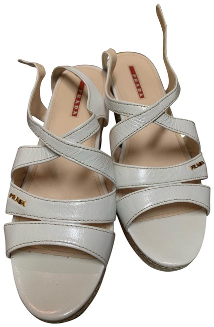 Item - White Sandals Wedges Size EU 39 (Approx. US 9) Regular (M, B)
