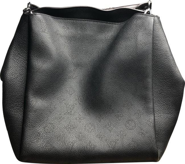 Louis Vuitton Babylone Pm Black Calfskin Leather Hobo Bag Louis Vuitton Babylone Pm Black Calfskin Leather Hobo Bag Image 1