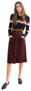 & Other Stories Skirt burgundy