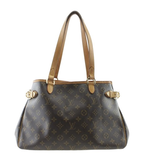 Louis Vuitton Canvas Tote in Brown Image 0