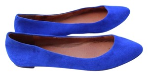 Madewell royal blue Flats