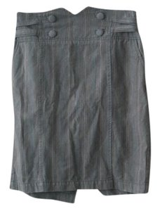 Urban Outfitters High Waist Skirt Blue