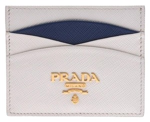 Prada Prada Card Case Black 1MC025 Ladies Men Saffiano PRADA