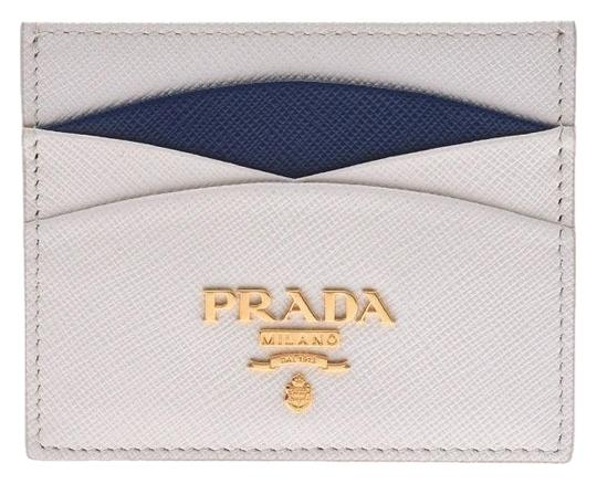 Prada Prada Card Case Black 1MC025 Ladies Men Saffiano PRADA Image 0