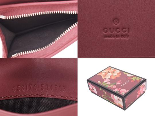 Gucci Gucci GG Blooms Compact Wallet Beige / Pink Floral Ladies PVC New Goods GUCCI Box Image 8