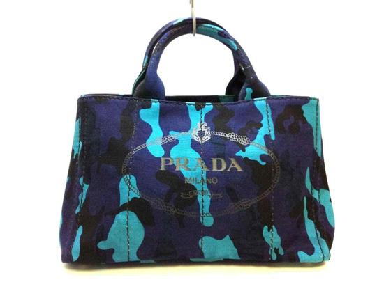 Canapa Tote Shoulder Bag by Prada